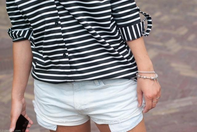Stripes, Details, Shorts, Levi's