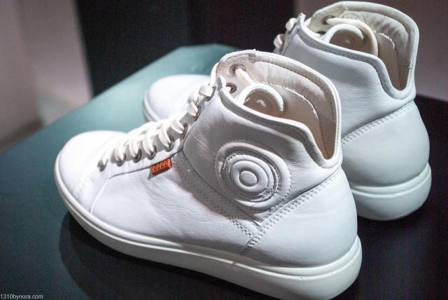 Eccosoft7, white sneakers, Event, Fashion