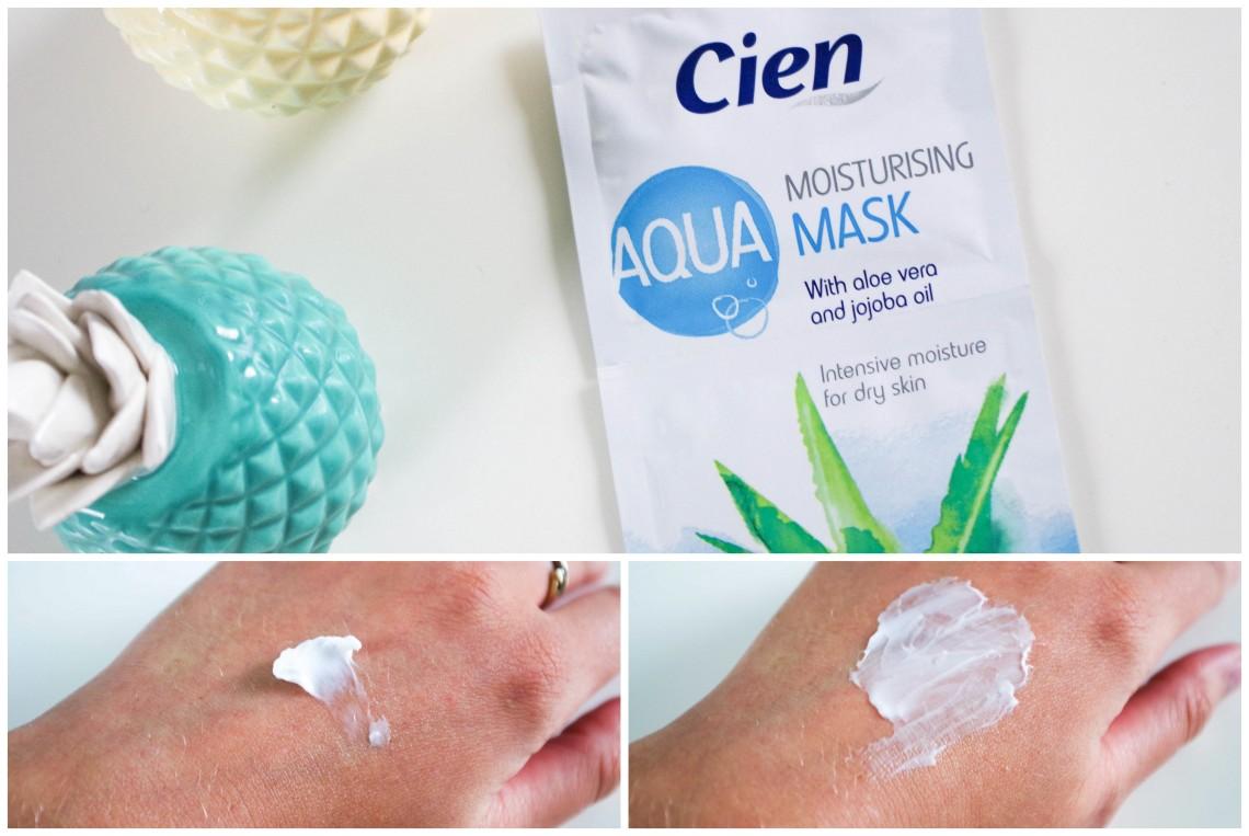 Cien Aqua moisturising mask, Lidl, Review, 1310bynora