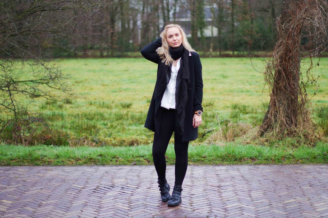 Outfit, Black and white, style, fashionblogger, 1310bynora,