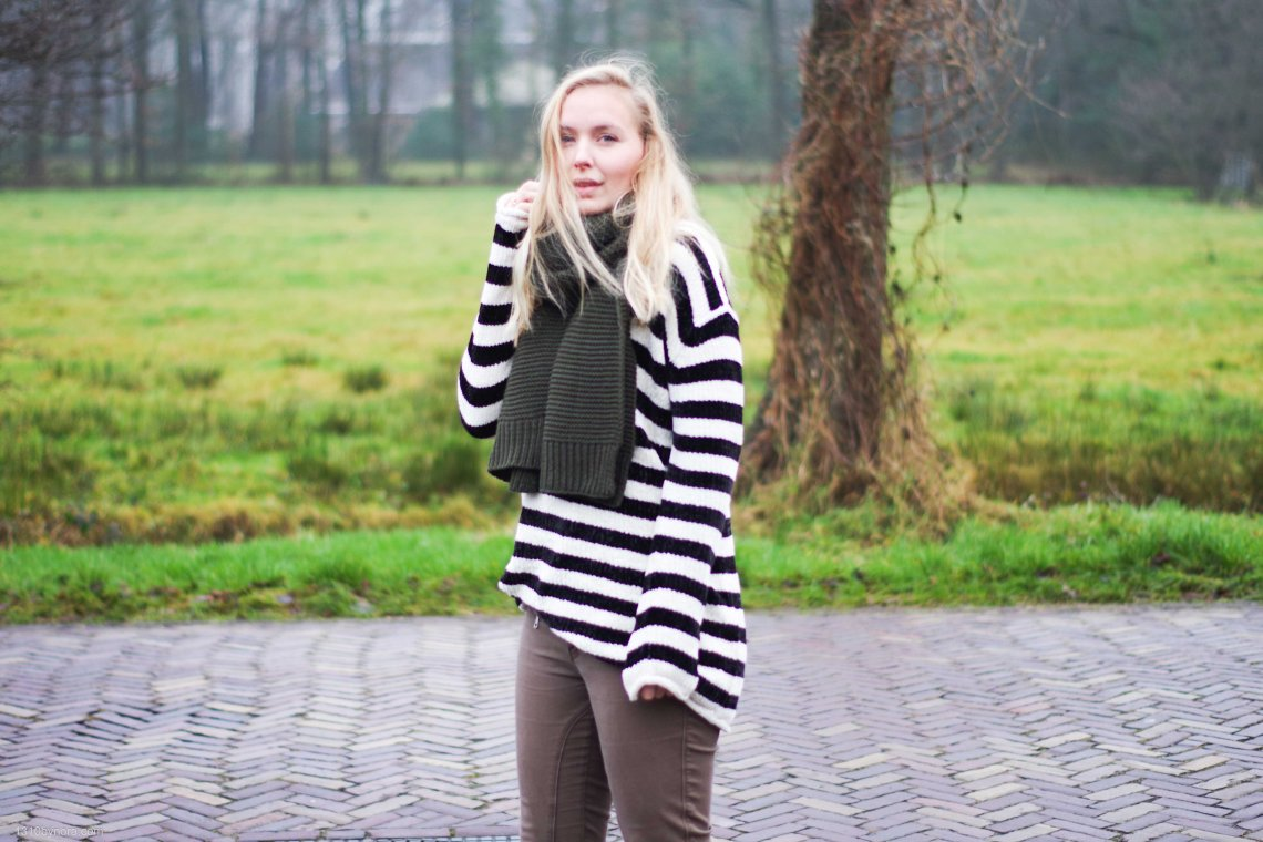 Outfit, Style, striped sweater, look, 1310bynora.com, blogger