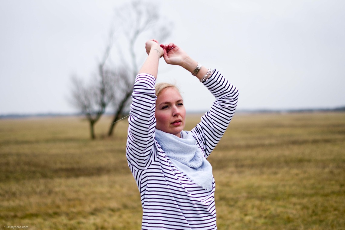 style, look, 1310bynora, fashion, blue, stripes,