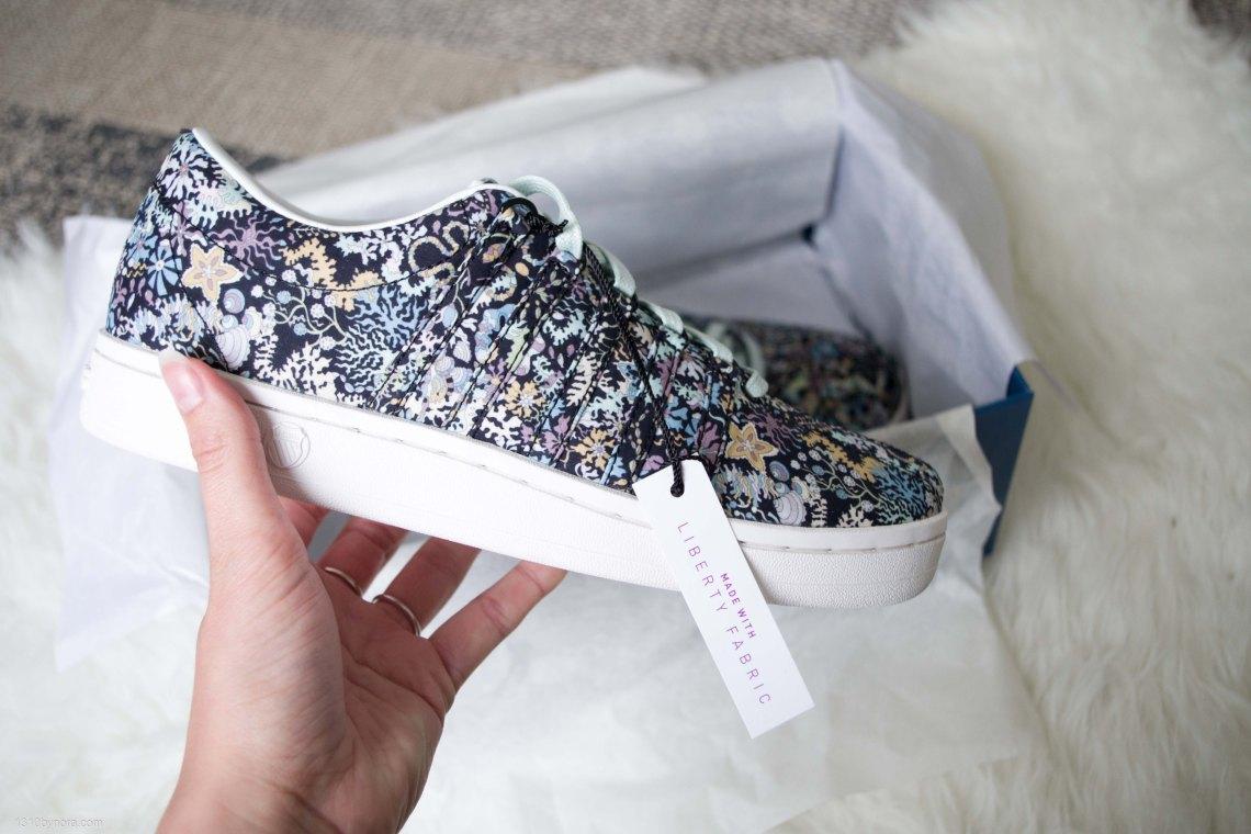 K-swiss, Sneakers, Liberty london, Tongue twister, white,