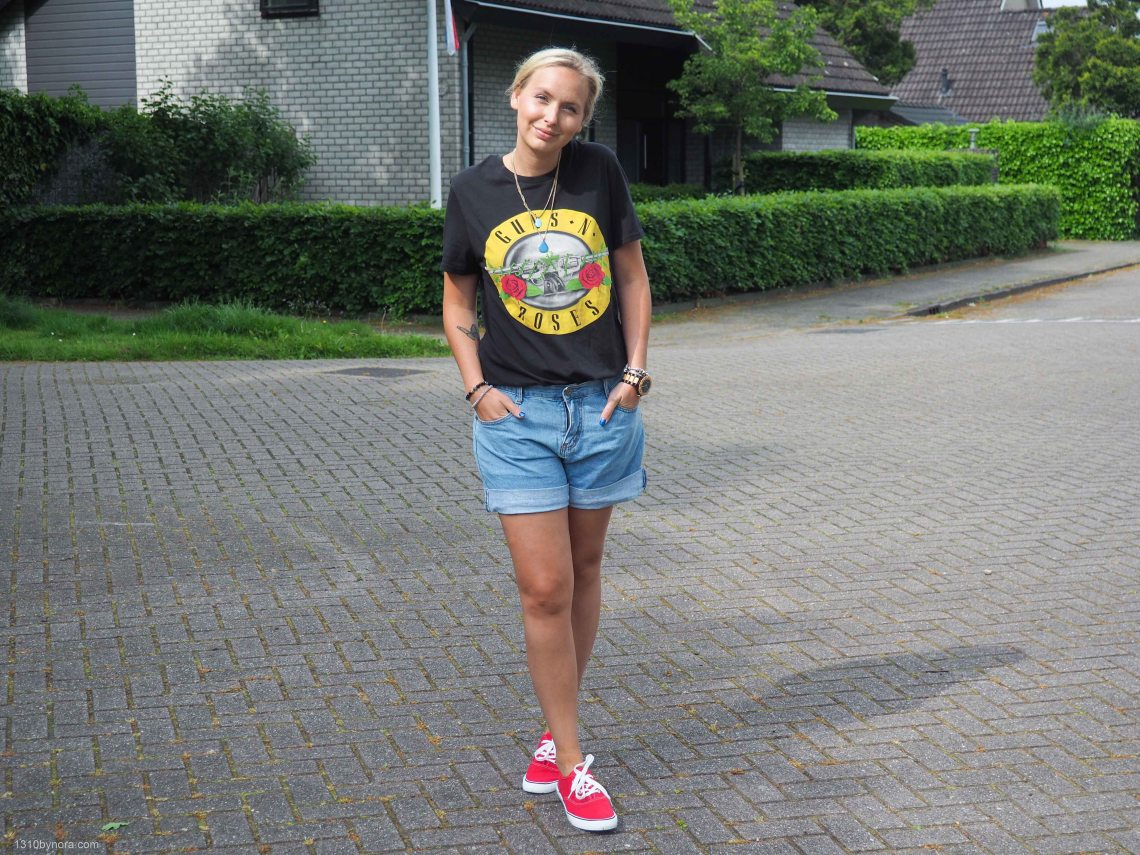 Shorts, red shoes, style, spring look, 1310bynora